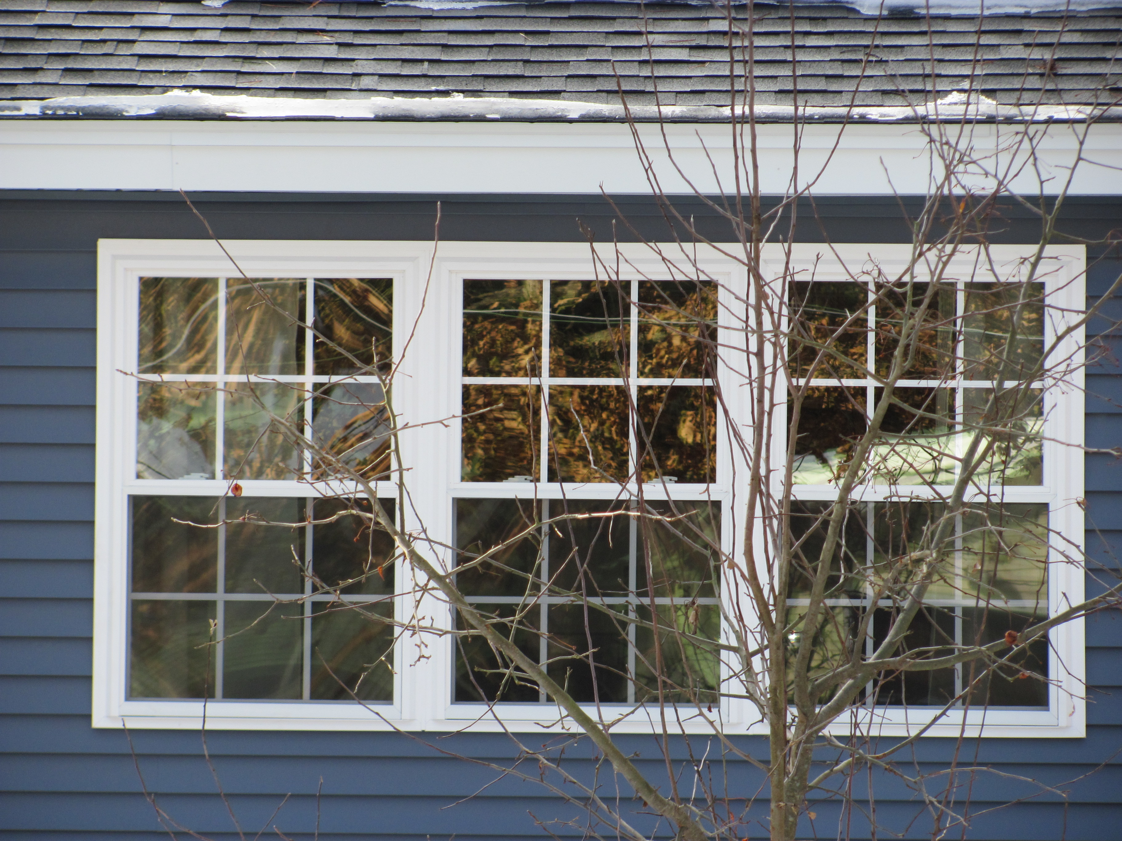 Window Project Completed In Litchfield Nh Vinyl Window