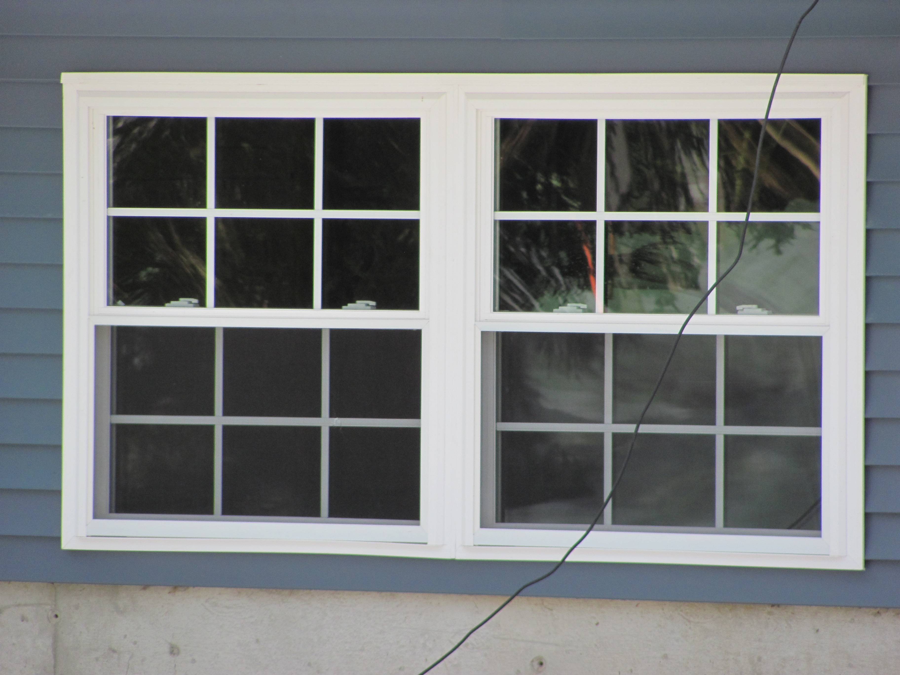 Window project completed in litchfield nh vinyl window for Window manufacturers