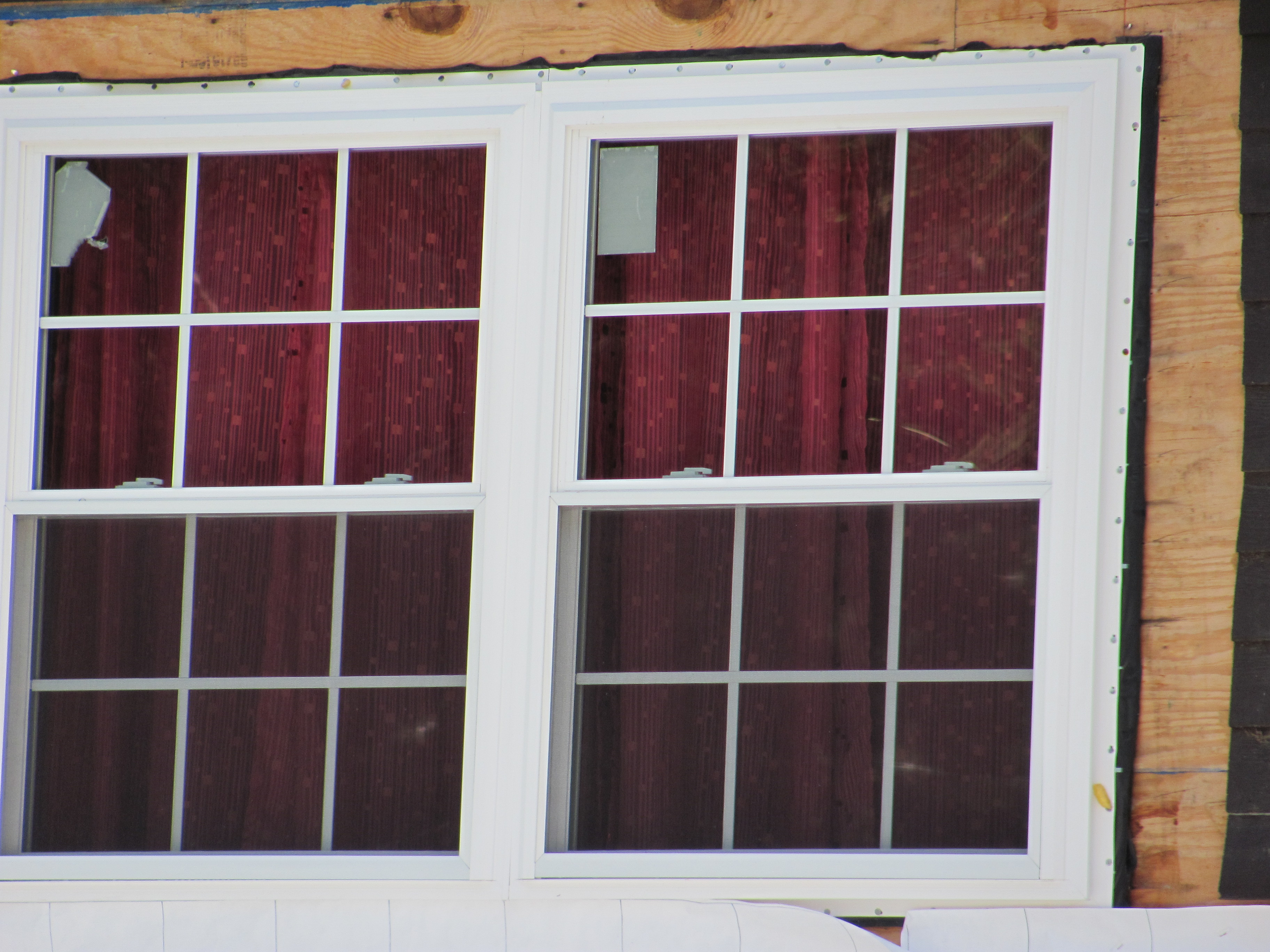Window project completed in litchfield nh vinyl window for Vinyl window manufacturers